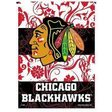 """Chicago Blackhawks Premium  2-Sided 13""""x 18""""  Garden Flag"""