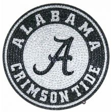 "Alabama Crimson Tide 6"" Bling Emblem"