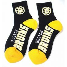 Boston Bruins Team Color Quarter Socks (Med)