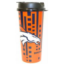 Denver Broncos 16-ounce Insulated Travel Mug