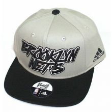 Brooklyn Nets Graffiti Flat Bill Adjustable Hat