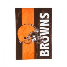 Cleveland Browns Embellish House Flag