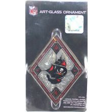 Tampa Bay Buccaneers Art Glass Ornament