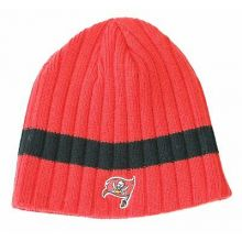 NFL Tampa Bay Buccaneers Thick Stripe Cable Knit Beanie