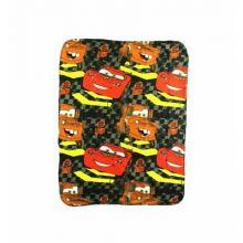 """Disney Pixar Cars Checkerboard Mater Fleece Throw 40""""x50"""""""