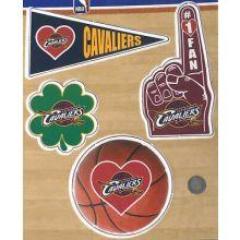 Cleveland Cavaliers 4 Piece Magnet Set