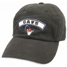 Cleveland Cavaliers Slouch Black Adjustable Hat