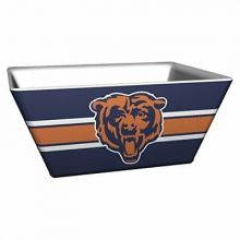 Chicago Bears Solid Melamine Square Bowl, 4.5-Quart