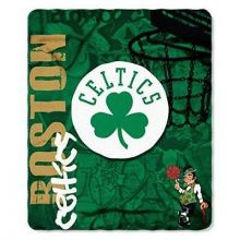 NBA Boston Celtics Hardknocks Fleece Throw Blanket