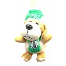 Boston Celtics 4 inch Plush Dog Ornament