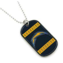 San Diego Chargers Dog Tag Necklace