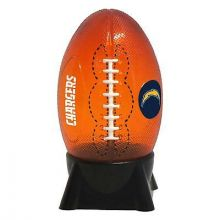 Los Angeles Chargers Football Shaped Night Light