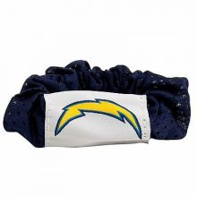 San Diego Chargers Hair Twist Ponytail Holder
