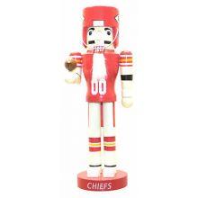 "Kansas City Chiefs 12"" Wood Nutcracker"