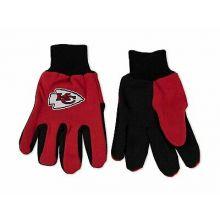 Kansas City Chiefs Team Color Utility Gloves
