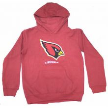 Arizona Cardinals Youth Reflective Gold  Trim Hoodie Med 10-12