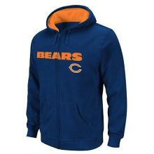 Chicago Bears Toddler Full Zip Hoodie Jacket (4T)