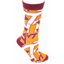 Virginia Tech Hoakies Team Crew Socks L/XL