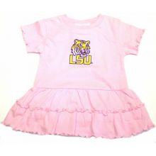 LSU Tigers Infant Pink Dress