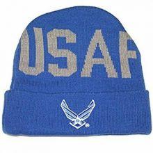 NCAA Licensed Iowa Hawkeyes Cuffed Pom Beanie Hat Cap Lid (KID SIZE)