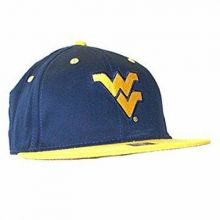 NCAA Licensed West Virginia Mountaineers 2 Tone Flatbill Hat Cap Lid