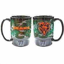 Chicago Bears 16 Oz Camo Ceramic Mug