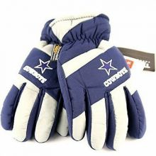 NFL Dallas Cowboys Thinsulate Navy Blue Lightning Embroidered Thinsulate Gloves
