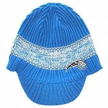 NBA Officially Licensed Orlando Magic Blue Visor Beanie Hat Cap Lid Toque