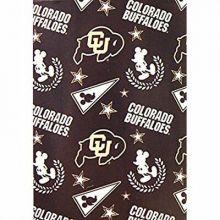"Officially Licensed NCAA Colorado Buffaloes 50""X60"" Mickey Mouse Character Fleec"