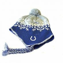 NFL Licensed Tassel Knit Beanie Hat Cap Lid Toque (San Diego Chargers)