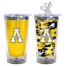 Appalacian State Mountaineers 16-Ounce Color Change Tumbler with Lid
