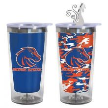 Boise State Broncos 16-Ounce Color Change Tumbler with Lid
