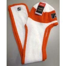NHL Philadelphia Flyers Knit Beanie Hat Scarf