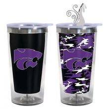 Kansas State Wildcats 16-Ounce Color Change Tumbler with Lid