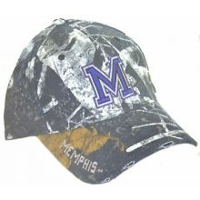 Memphis Tigers Dark Camouflage Adjustable Hat