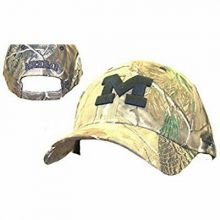 "Michigan Wolverines ""M"" Logo Camouflage Adjustable Hat"