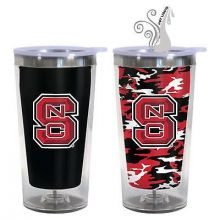 North Carolina State Wolfpack 16-Ounce Color Change Tumbler with Lid