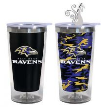 Baltimore Ravens 16-Ounce Color Change Tumbler with Lid
