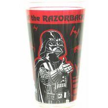 Arkansas Razorbacks 16 oz Star Wars Pint Glass