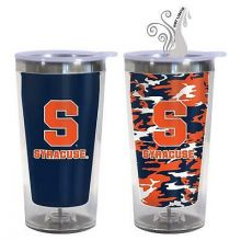 Syracuse Orange 16-Ounce Color Change Tumbler with Lid