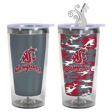 Washington State Cougars 16-Ounce Color Change Tumbler with Lid
