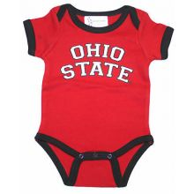 "Ohio State Buckeyes Infant ""Ohio State"" Red Bodysuit (6 Months)"