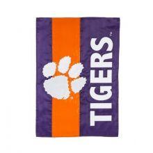 Clemson Tigers Embellish House Flag