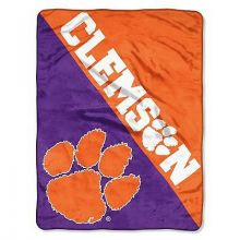 Clemson Tigers Super Plush Fleece Throw