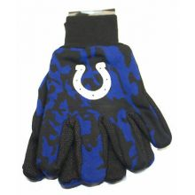 Indianapolis Colts Team Color Camo Utility Gloves