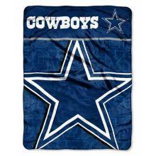"Dallas Cowboys Living Large 46"" x 60"" Super Plush Throw"