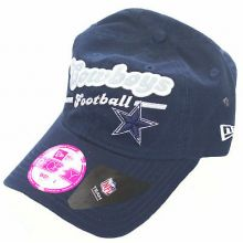 Dallas Cowboys 9Forty Womens Navy Slouch Adjustable Hat Cap Lid