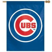 "Chicago Cubs Logo Vertical House Flag 27"" x 37"""