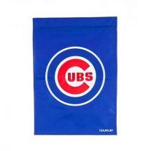 Chicago Cubs 2 Sided Applique Garden Flag