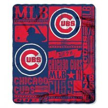 "Chicago Cubs 50"" x 60"" Established Fleece Throw Blanket"